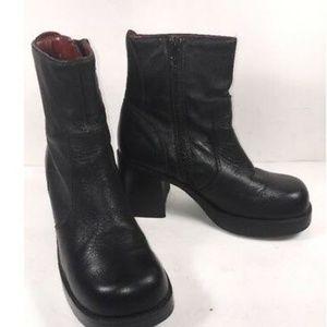 American Eagle Ankle Boots Women's Sz 6M black